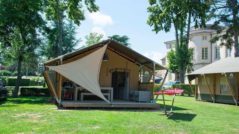 Camping Château de l´Epervière