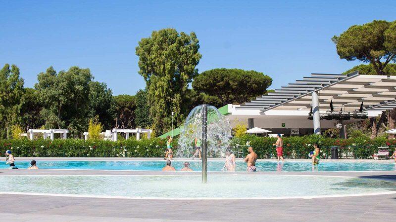 Kinderzwembad Waterval Fontein
