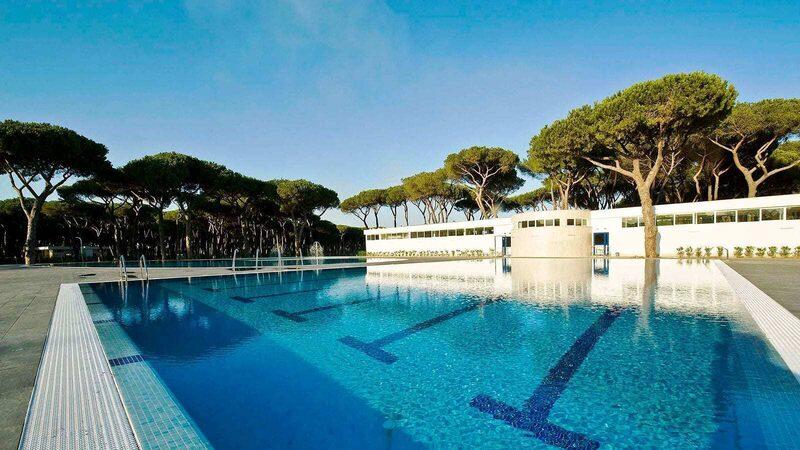 Olympisch zwembad Zwembad