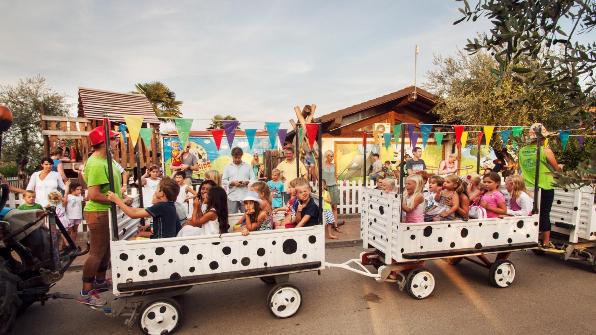 kindertrein kinderanimatie plezier plezier kinderactiviteit plezier trein