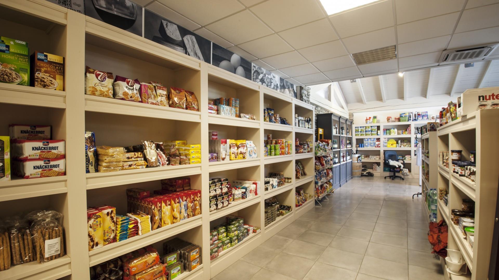 Supermarkt Minimarkt Winkel Voedselbrood