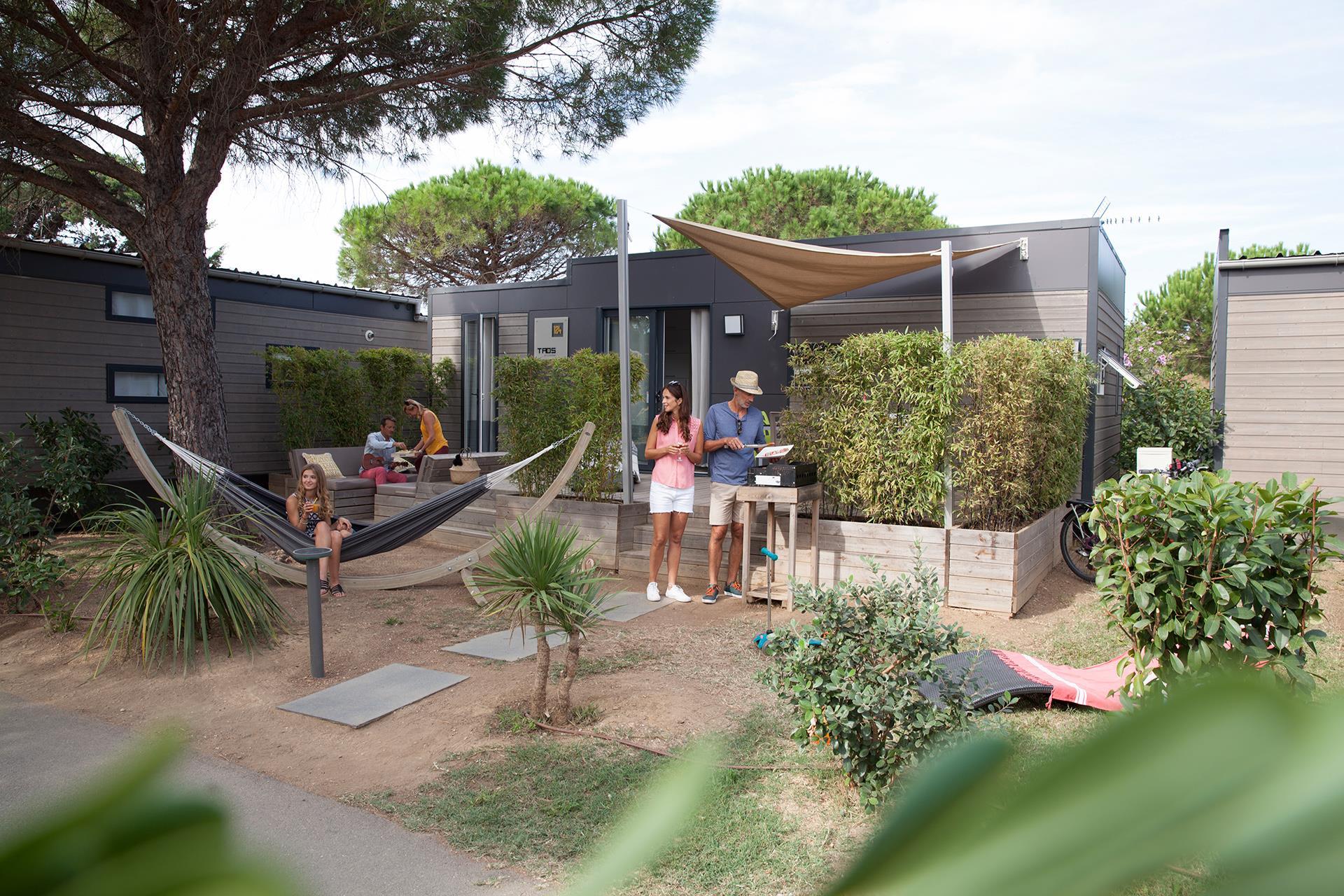 Zakwaterowanie mobile home chalet domy mieszkalne