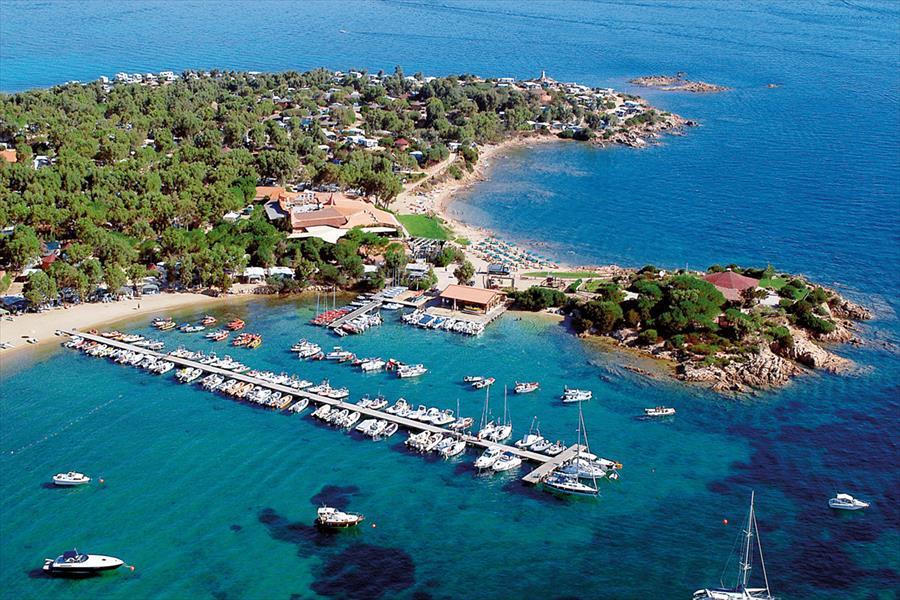 opname haven boten water baai
