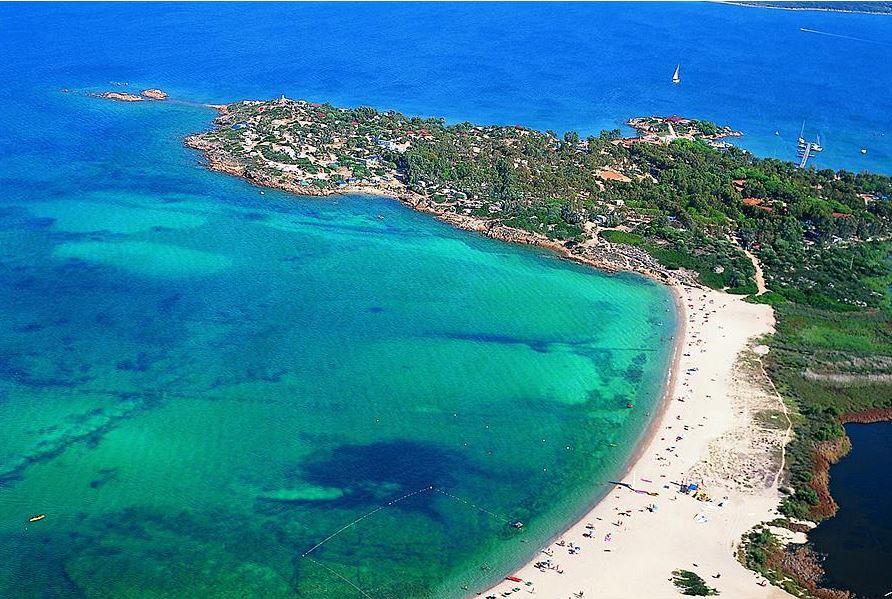Panoramisch uitzicht strand