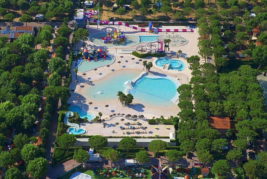 Zwembadlandschap