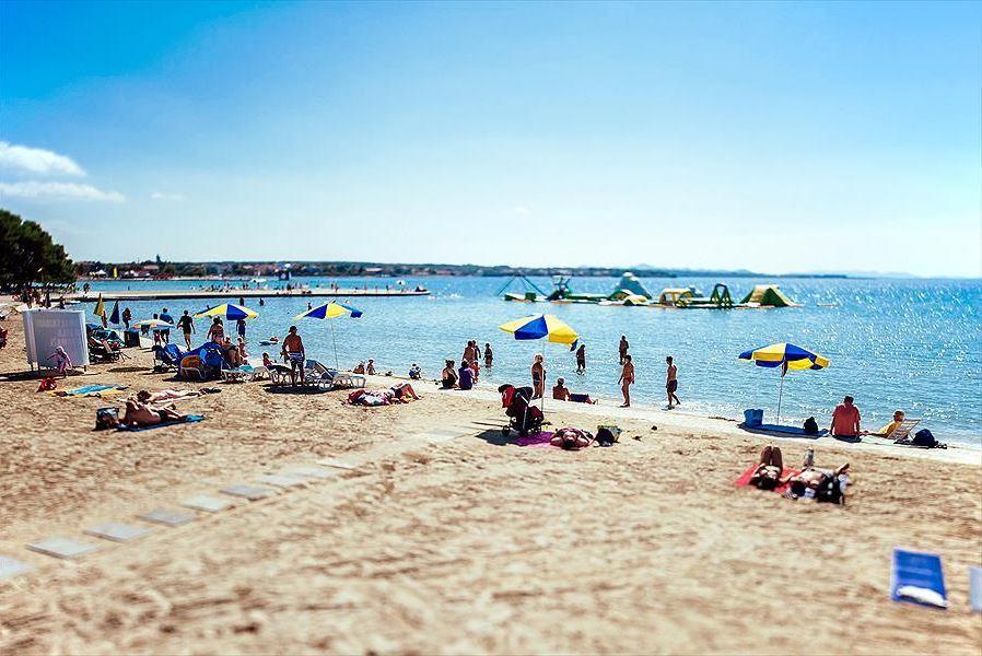 Kroatie zand strand