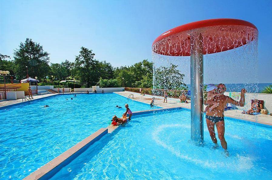 zwembad kindergedeelte