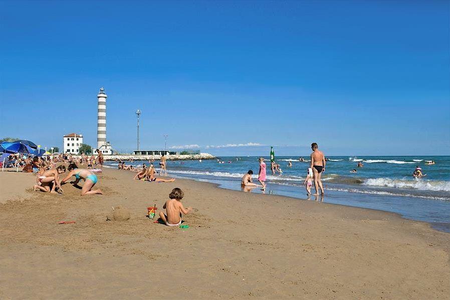 Child friendly beach