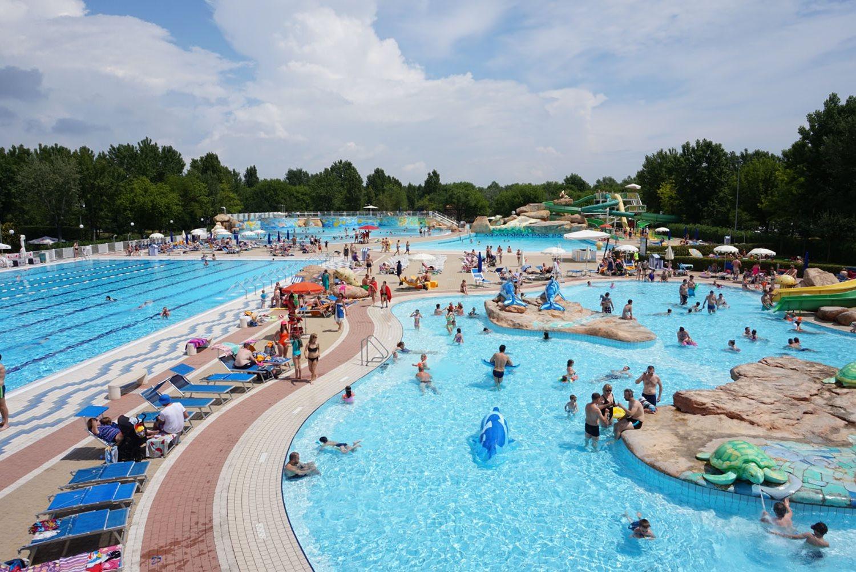 Several pools