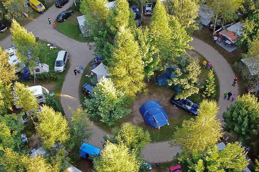 friendly campsite