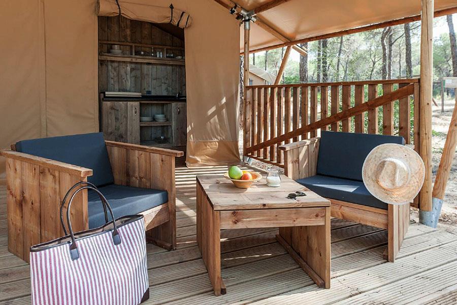 Grandes muebles para el patio de relax