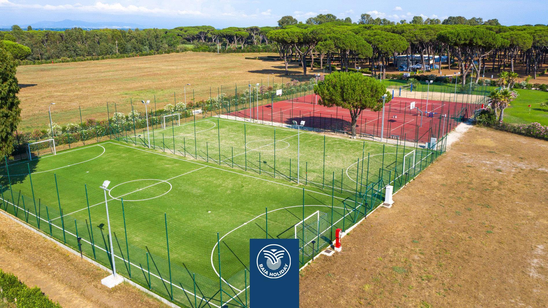 Sport Tennis Voetbal Handbal Gazon