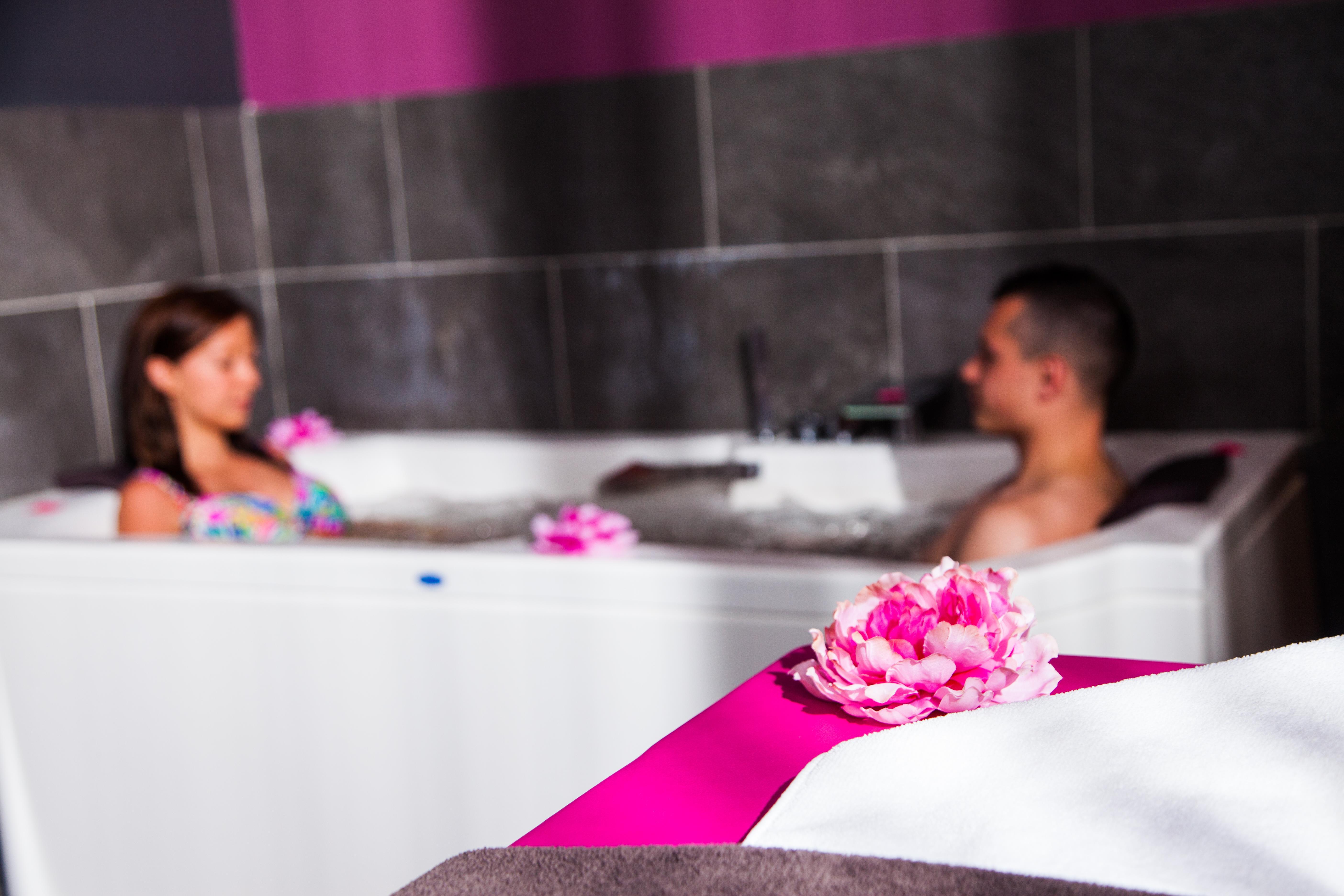 Area de SPA Recreacion en pareja Relajese en vacaciones