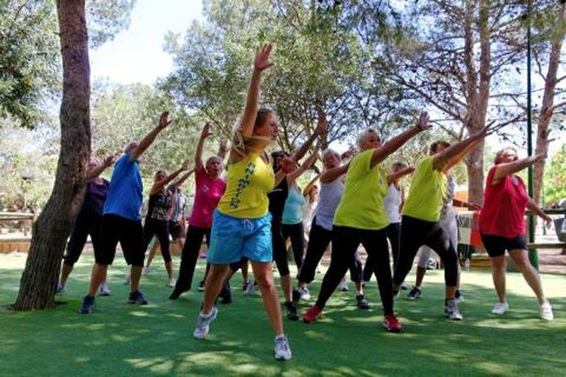 Sport animatie Qi Gong Yoga